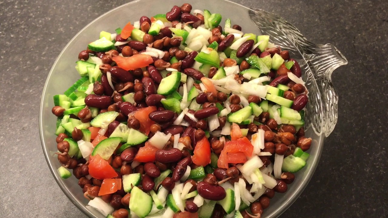 Red Kidney Beans Salad | Beans and Cucumber Salad | Diet Salad | Nina Recipe