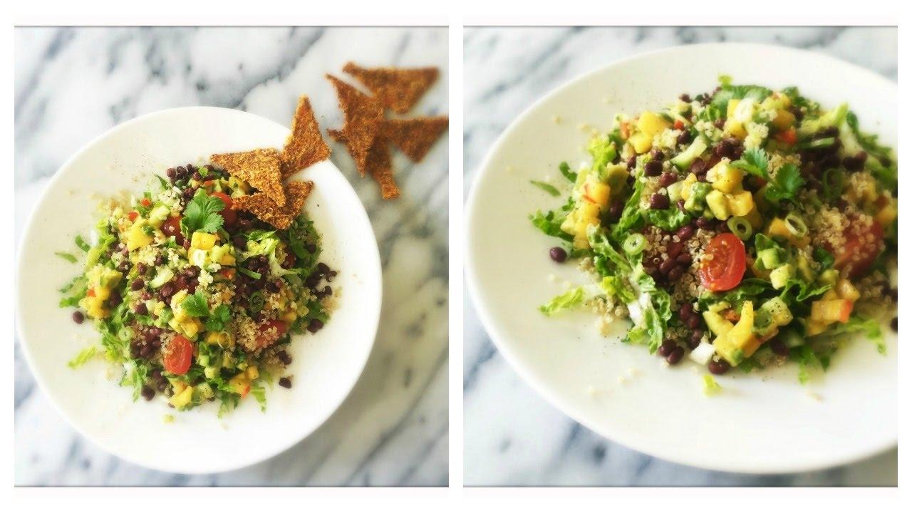 The Ultimate Vegan Taco Salad (with Persimmon Avocado Salsa)