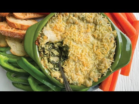 VEGAN SPINACH DIP RECIPE | BAKED SPINACH DIP | The Edgy Veg