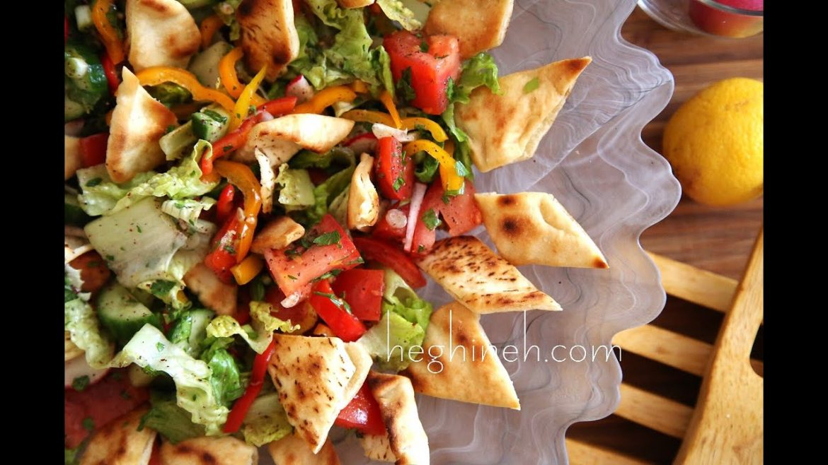 Fattoush Salad Recipe – Middle Eastern Food – Heghineh Cooking Show