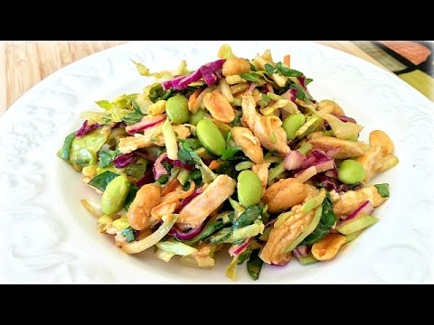 Spicy Peanut Dressing – Crunchy Thai Salad Recipe