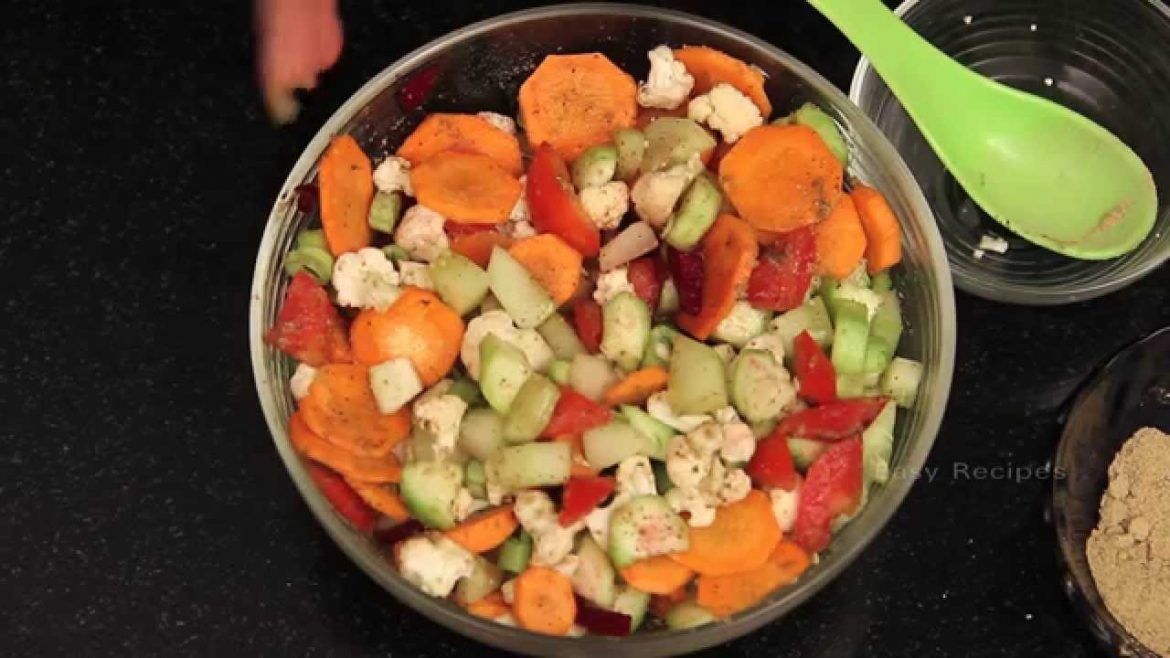 Vegetable Salad – How to Make Vegetable Salad – Easy Recipes