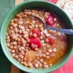 Grecian Lentil Soup