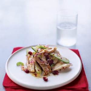 Chicken Waldorf Salad With Flaxseed-Oil Dressing