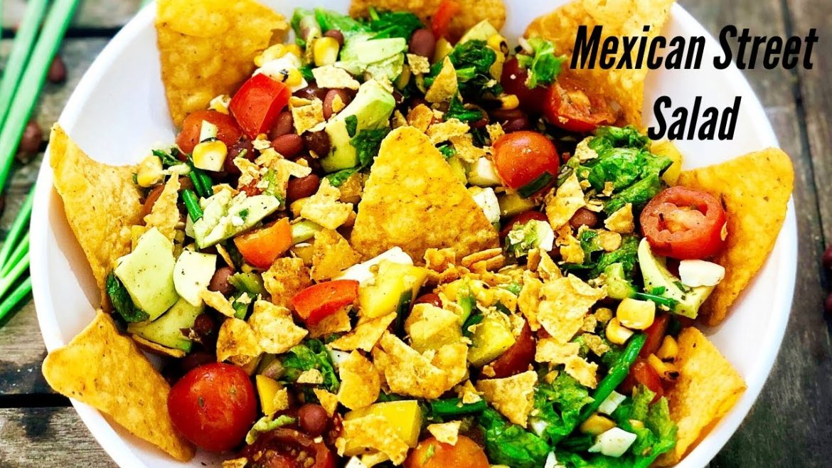Mexican Street Salad | Healthy Salad Recipe | Flavourful Food By Priya