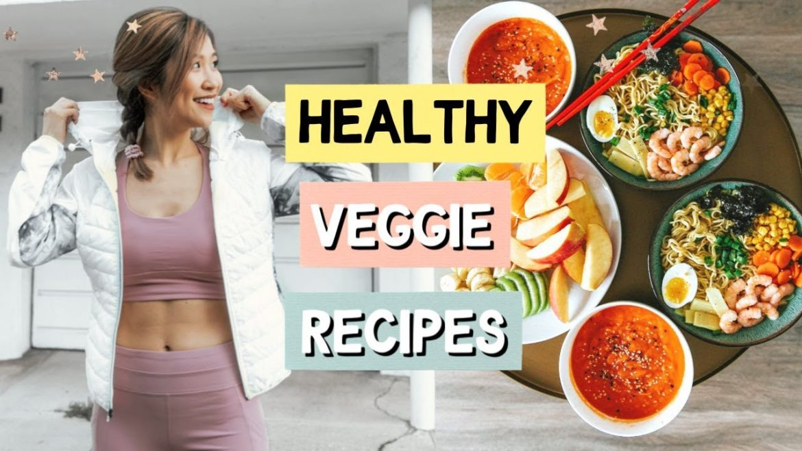 WHAT I EAT IN A DAY! 4 Healthy and Quick Recipes!