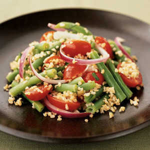 Walnut-Green Bean Salad