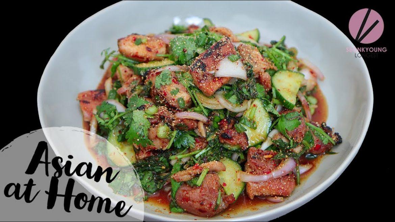 AMAZING Thai Grilled Chicken Salad
