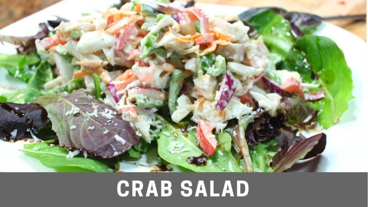 Crab Salad Quick and Easy Homemade Recipe