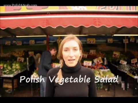 Polish Food – Root Vegetable Salad Recipe – Polish Cuisine