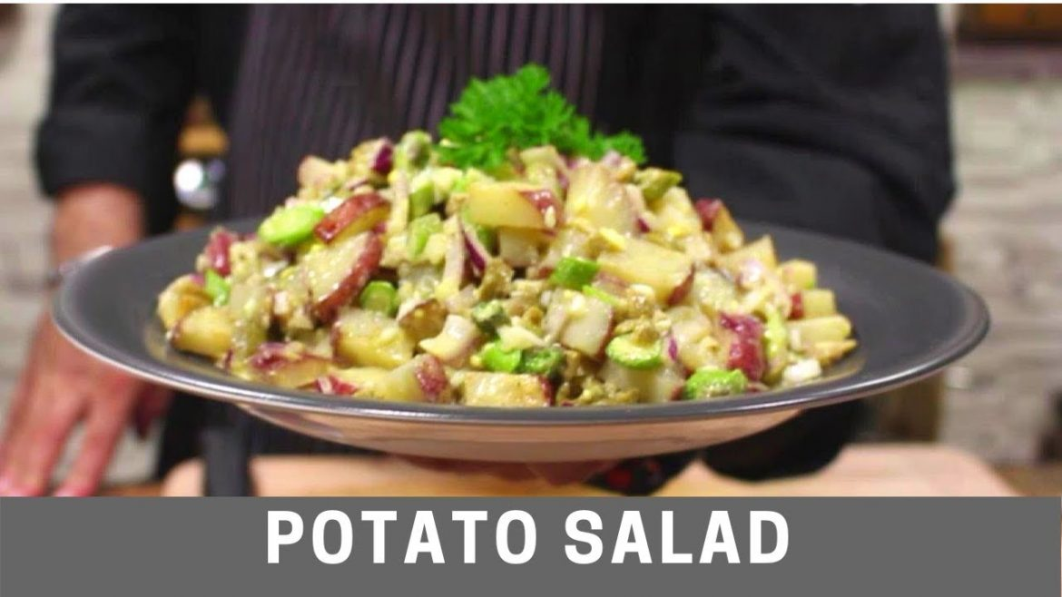 Potato Salad Recipe | Healthy, Quick & Easy |