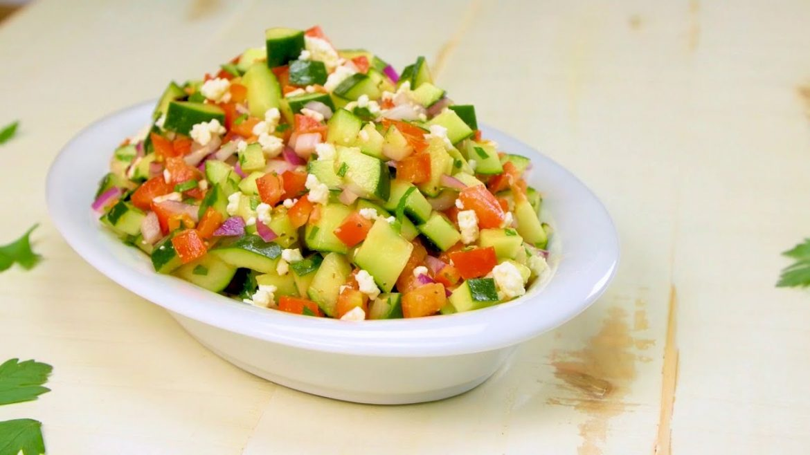 Simple Persian Salad