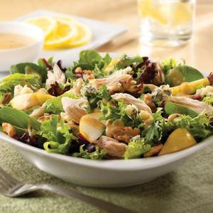 Gorgonzola and Pear Salad with Honey Dijon Dressing