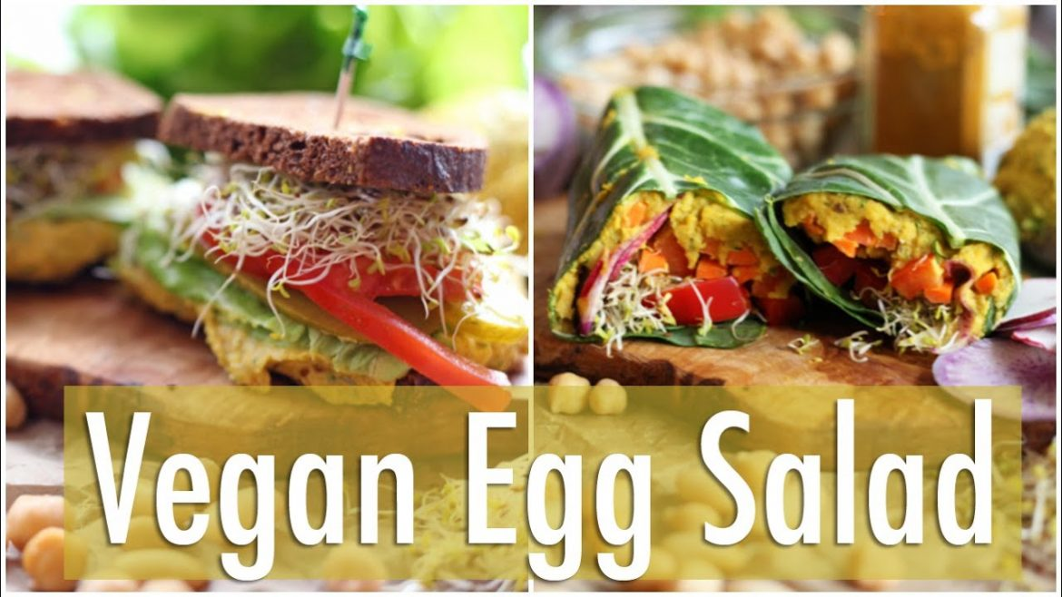 Easy Vegan Egg Salad | Healthy Lunch Ideas Collab w/The Edgy Veg