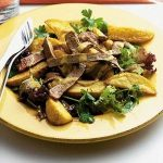 Steak & chips salad