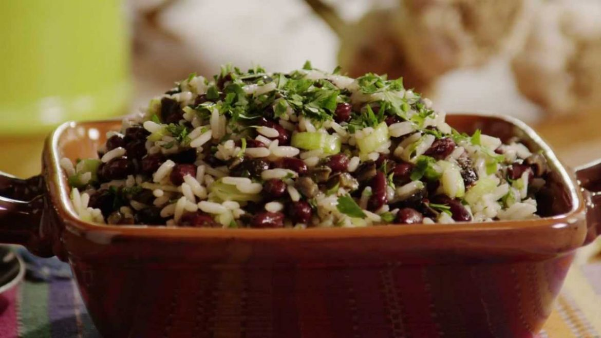 Spicy Black Bean and Rice Salad | Vegetarian Recipes | Allrecipes.com
