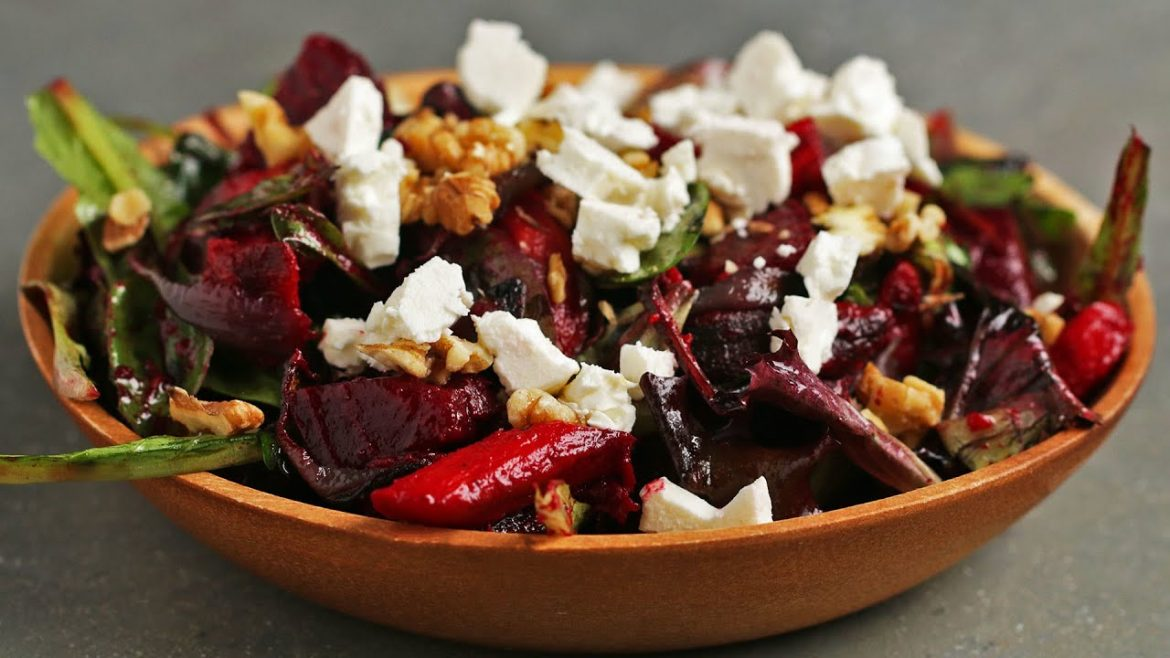 Hearty Roasted Veggie Salad