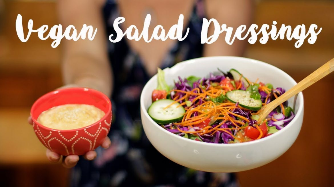 Homemade Amazing Vegan Salad Dressings