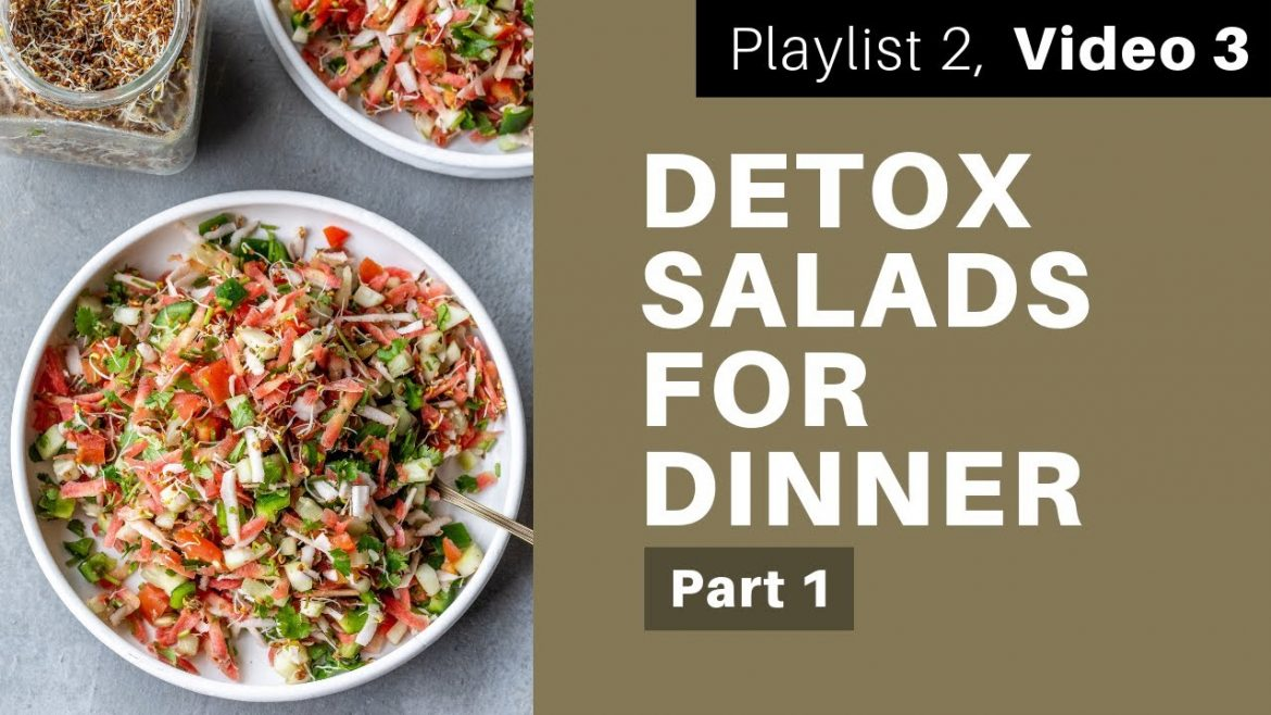 Satvic Salads for Dinner pt.1 | Subah Jain
