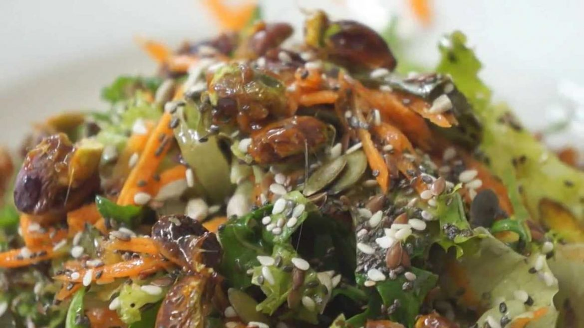 Super Seeds Salad – Vegan Recipe