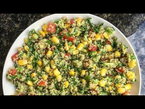 Veggie Quinoa Bowl | VEGAN, EASY, SALAD RECIPES