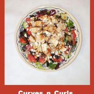 Greek-esque Chicken Feta Salad