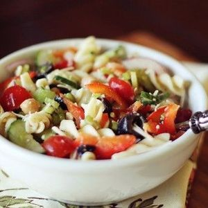 Loaded Pasta Salad!