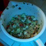 mediterannean barley salad