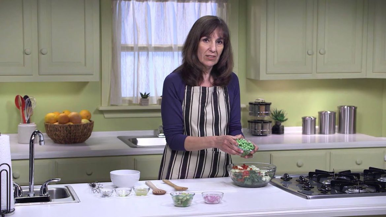 Chopped Colorful Veggie Salad