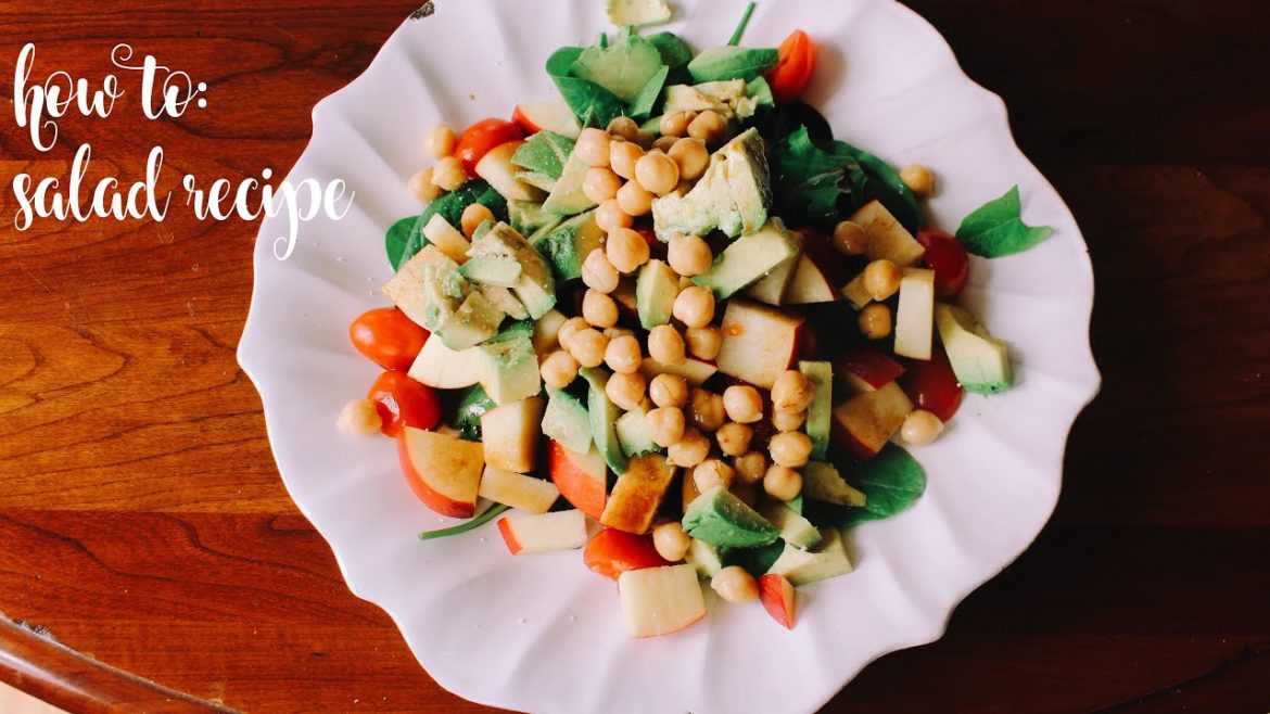Easy + Quick Vegan Salad Recipe