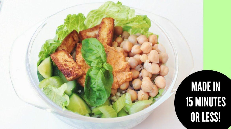 EPIC VEGAN SALAD BOWLS //  healthy + easy
