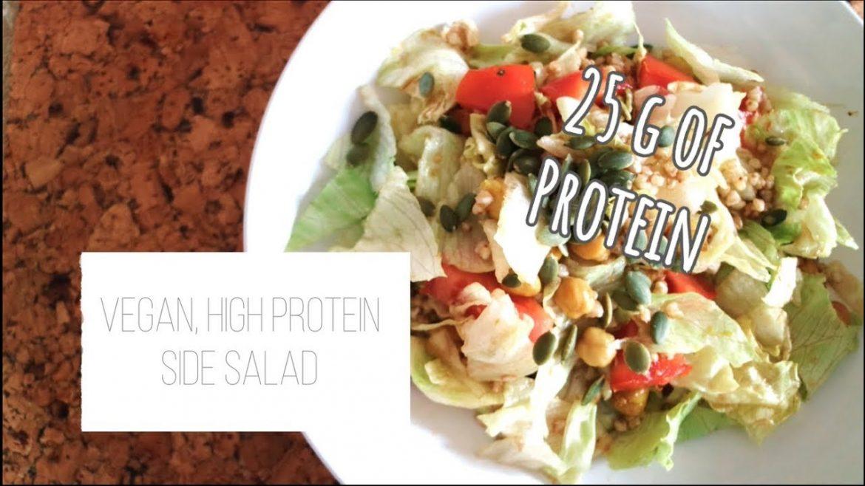 Vegan, HIGH PROTEIN Side Salad