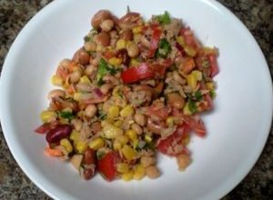 Saturday's Tuna and Bean Salad
