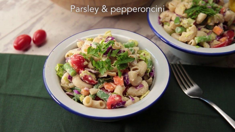 Chopped Veggie Salad | Forks Over Knives