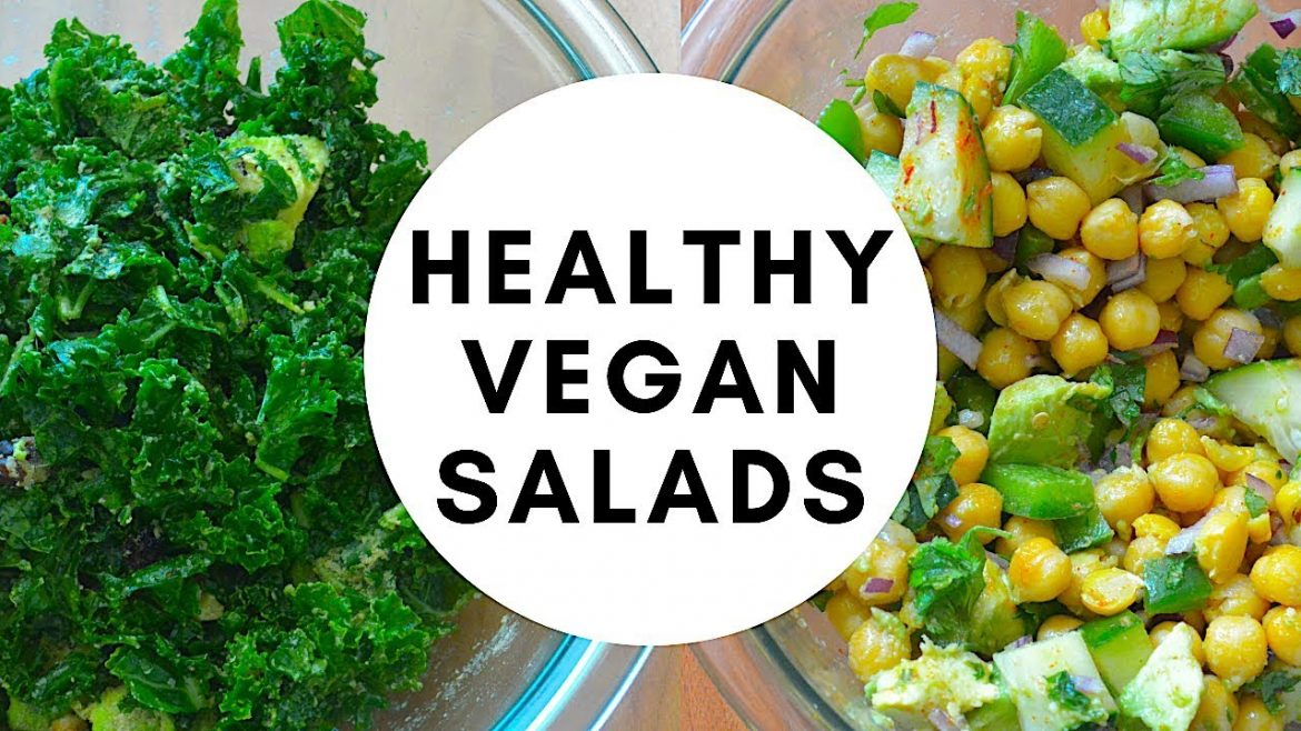 4 Healthy Vegan Salads for Weight Loss