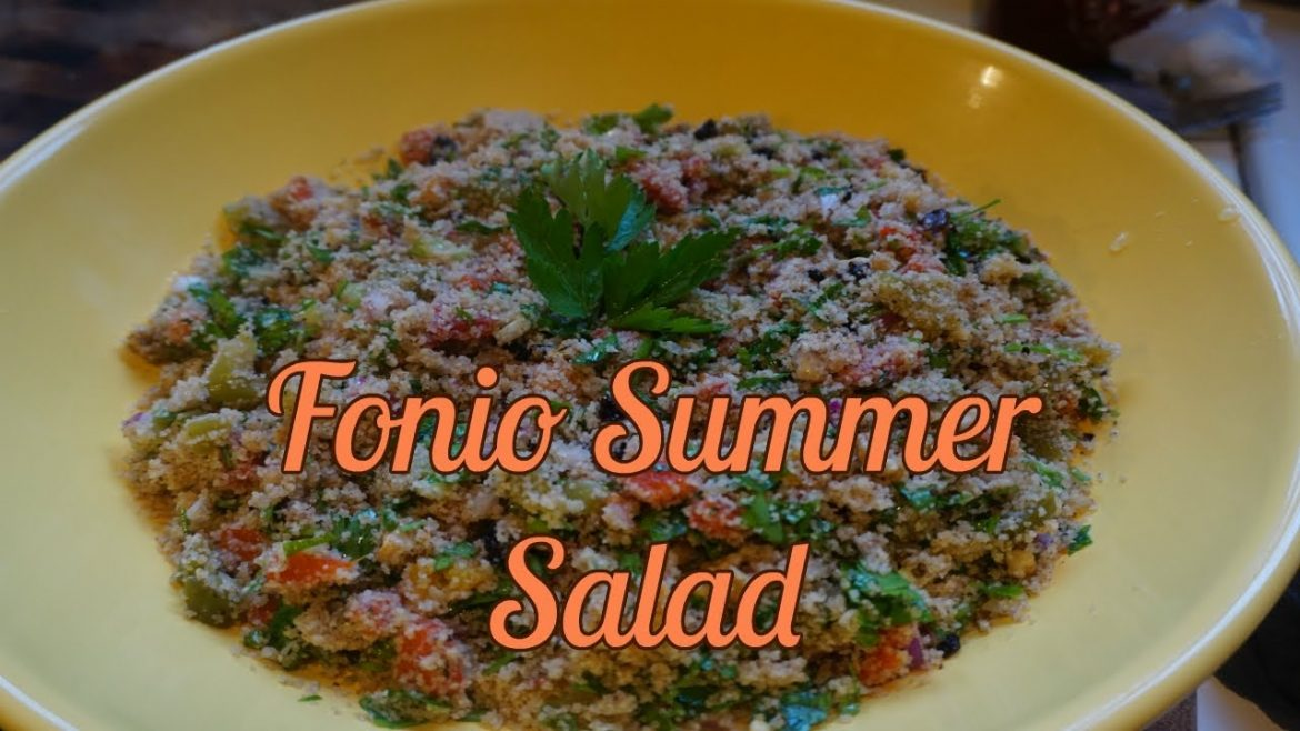 Fonio Summer Salad – Vegan For Life