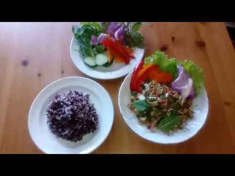 Larb Soya for 2 Thai spicy Vegan Salad