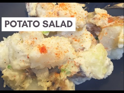 Vegan Deli-Style Potato Salad | Cheap Vegan Food