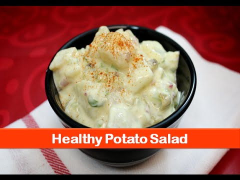 Healthy potato yogurt salad recipe/Indian veg aloo raita/easy dinner lunch recipes-let's be foodie