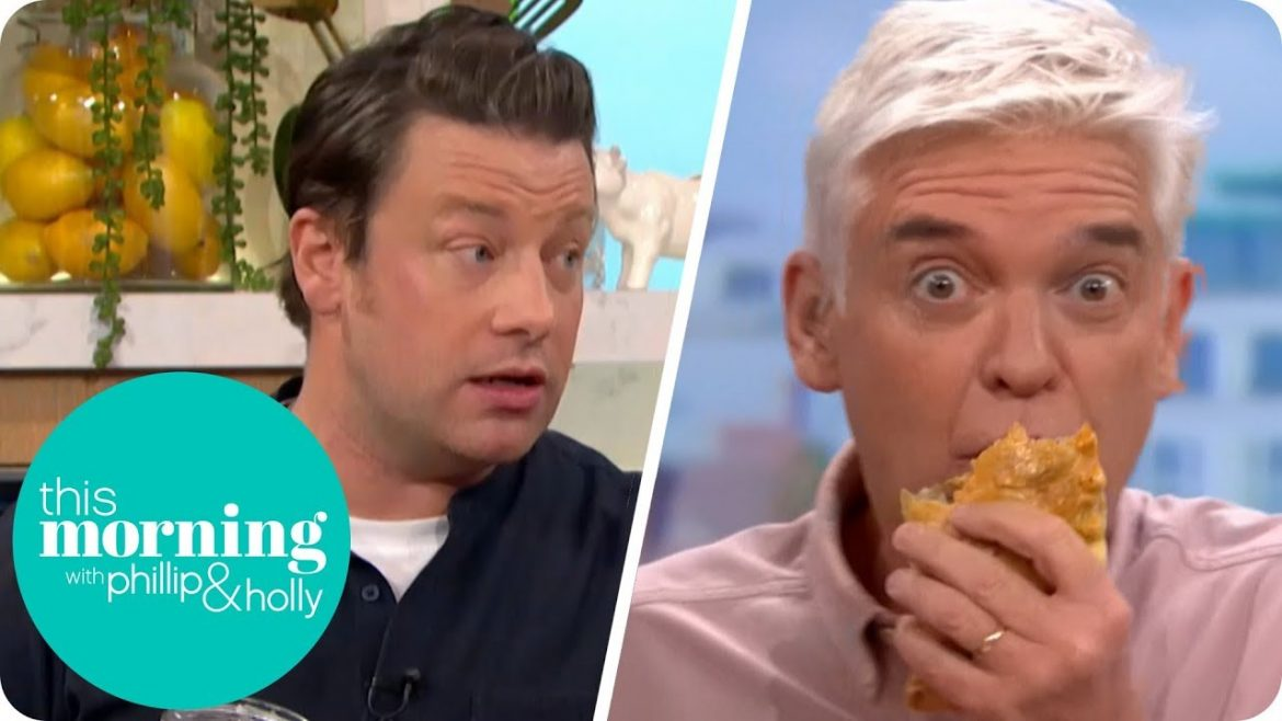 Jamie Oliver's Veggie Meals   This Morning