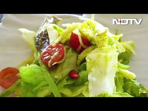 Raw Mango And Vegetables Salad Recipe