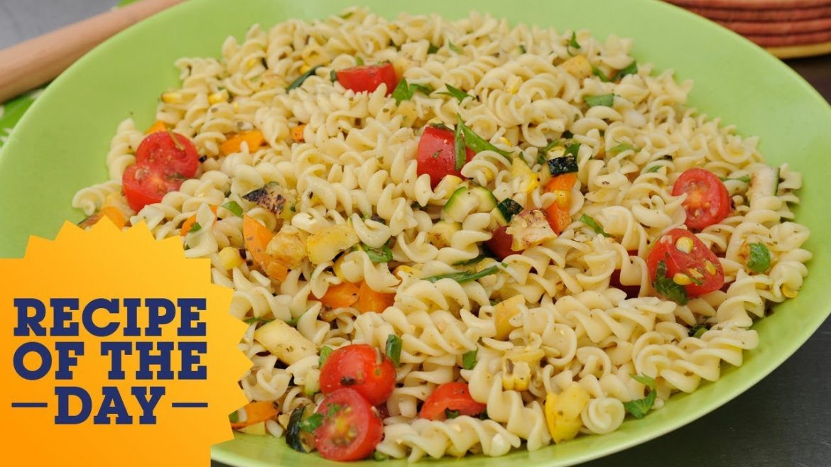 Recipe of the Day: Colorful Veggie Pasta Salad | Food Network