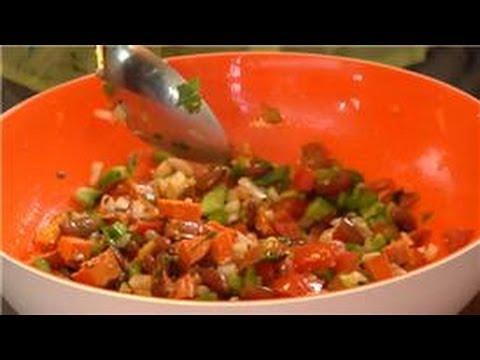 Veggie Salads : Red Kidney Bean Salad