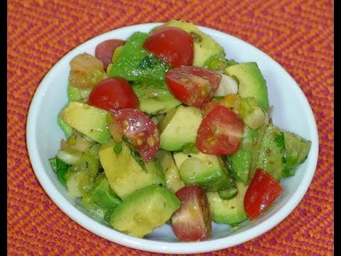Easy Avocado Salad Recipe