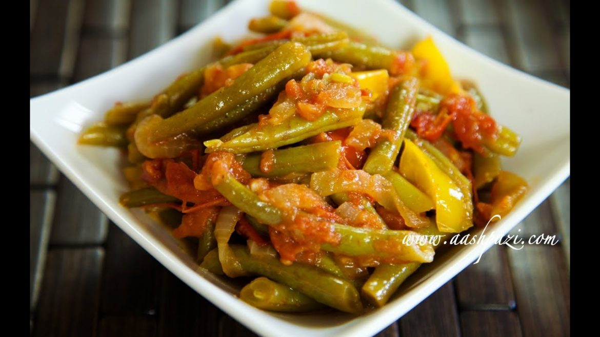 Green Beans Salad Recipe (healthy recipe) Vegetable salad