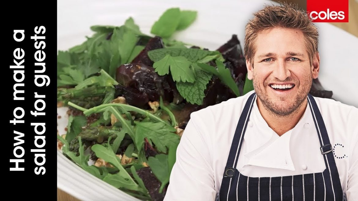 How to make a salad for guests with dietary restrictions with Curtis Stone