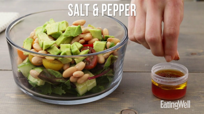 How to Make a White Bean & Veggie Salad | EatingWell