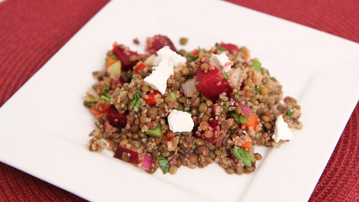 Lentil & Quinoa Salad Recipe – Laura Vitale – Laura in the Kitchen Episode 630