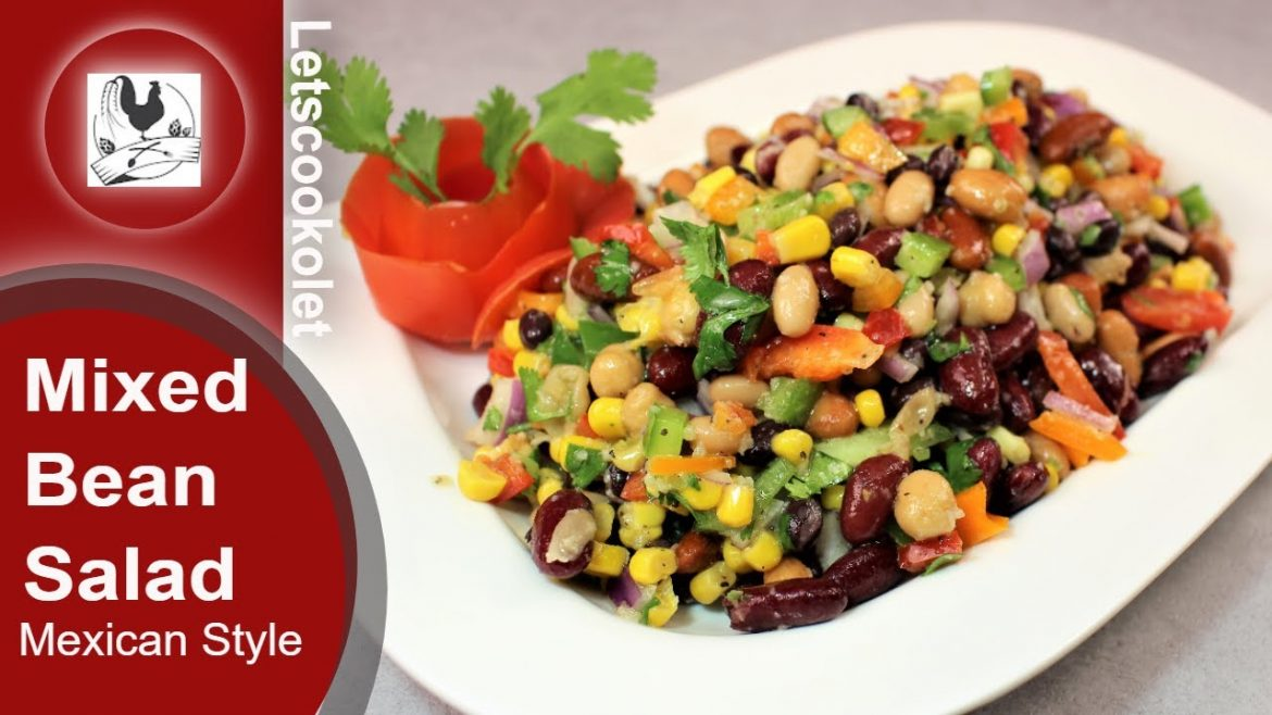 Beans Salad   Mexican Style