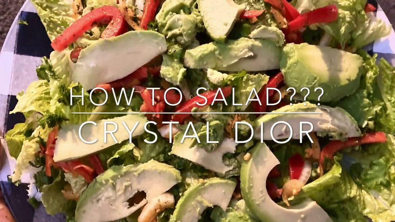 How To Salad? Simple Romaine Salad Recipe|BlackVeganRAW